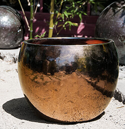 Gold Outdoor Pottery